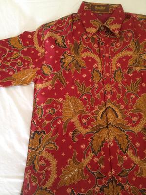 Camisa de Indonesia Nueva Talla S
