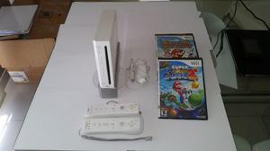 Consola Nintendo Wii Con 2 Mandos,un Nunchunk,wii Sports