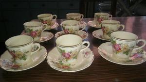 Precioso juego de tazas y platitos para cafe posot class for Juego tazas cafe