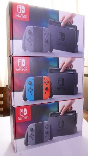 Nintendo Switch Nuevo Sellado (Rojo - Azul)