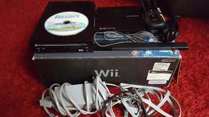 Nintendo Wii Color Negro Completo