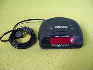 Radio Reloj Despertador Digital Am Fm Imaco