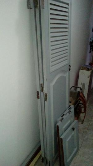 Remato Puertas de Closet o vendo como madera