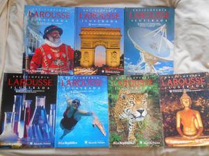 15 tomos de la Enciclopedia Larousse Ilustrada La