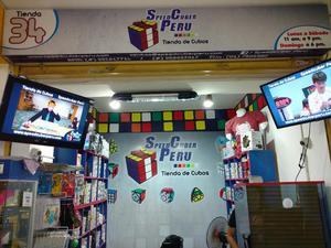 Cubo Mágico de Rubik 3x3x3 Tienda en Lima Speedcuber Perú