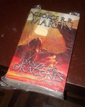 LIBRO DANZA DE DRAGONES, Juego de Tronos