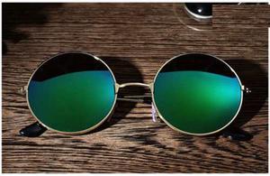 Lentes De Sol Polarizados Verde Ozzy John Lennon Retro Uv400