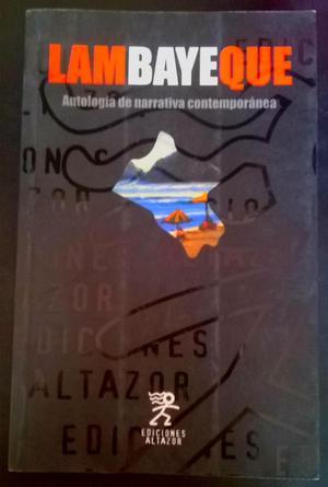 Libro. Lambayeque. Antología de narrativa contemporánea
