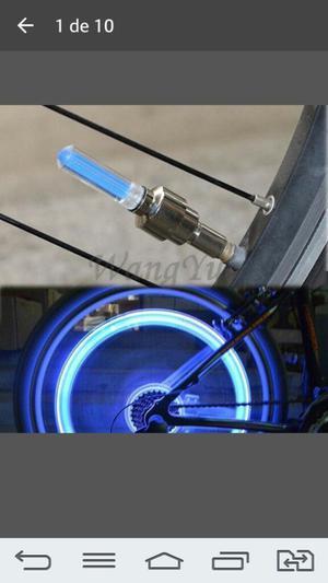 Luz Led para Ruedas de Biciclet