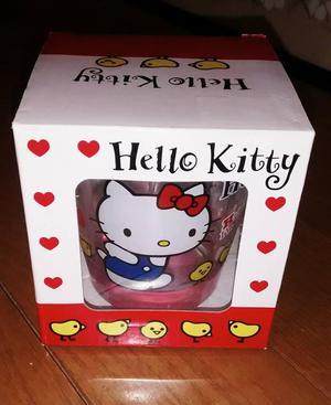 Vaso de vidrio de Hello Kitty