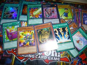 lotes de 65 cartas yugioh yu gi oh