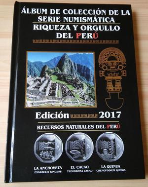 Album de colección de la serie numismática edición