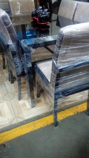 Sillas de madera mod rusticas para comedor posot class for Precio de comedor de madera 6 sillas
