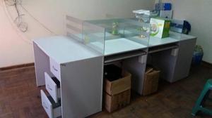 Modernos escritorio modular posot class for Escritorio modular