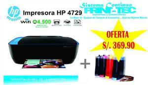 Impresora Todoenuno Hp D Ultra  Sistema Continuo