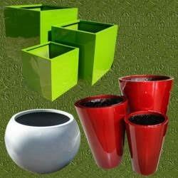 Sauna personal en fibra de vidrio a vapor posot class - Macetas fibra de vidrio ...