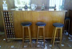 Esquinero bar de vidrio alto 160 mts posot class for Vendo bar de madera