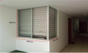 Venta de 04 ventanas de Aluminio lista para instalar a S/