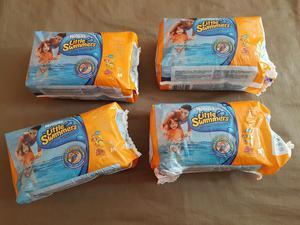 4 Paquetes de Pañales de Agua Marca Huggies Little Swimmers