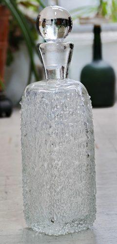 Antigua Licorera De Cristal De Roca