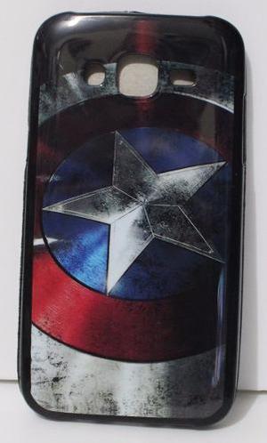 Case Funda Marvel - Samsung J5 Escudo Capitan America