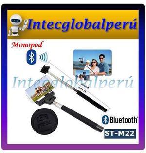 Monopod Bluetooth Boton Integrado Selfie Smartphones Iphone