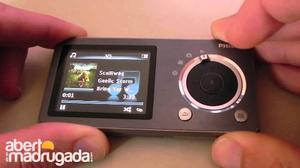 Mp4 Mp3 Phillips Con Camara Y Video