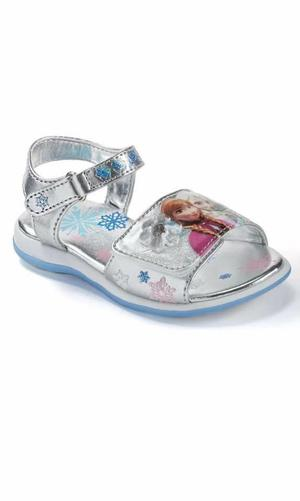 Sandalias con luces Frozen Disney original para niñas USA