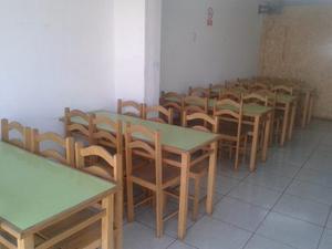 Se Vende Mesas Y Sillas Para Restaurante O Negocio