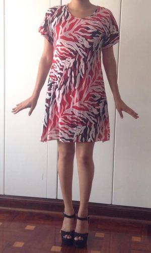 Vestido estampado marca italiana 29 soles