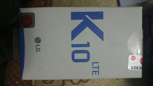 Vendo Mi Lg K10 con 3 Meses de Uso