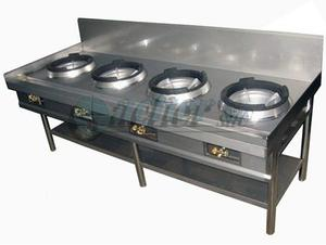 Cocina Industrial Chifera 4 Hornillas