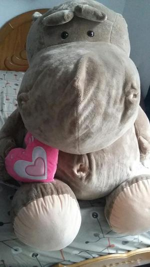 Hipopótamo de Peluche Hipoalergénico