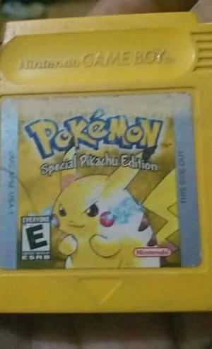 Juego Game Boy Pokemon Pikachu
