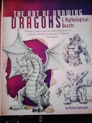 Libro/Guía THE ART OF DRAWING EL ARTE DE DIBUJAR DRAGONES Y