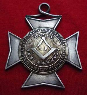 Medalla  Logia Masonica Union Amazonica Iquitos Wyw