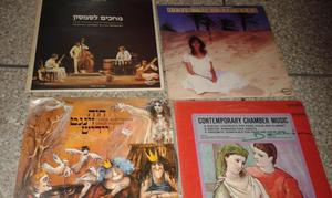 Rematoo lote de 22 discos de vinilo de folklore hebreo