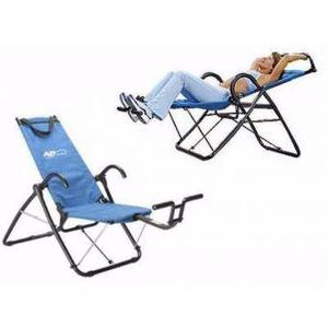 Silla Para Abdominales Gym Master GM Azul AM IMPORT