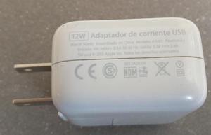 ipad air, ipad pro, cargador de 12w mas cable original