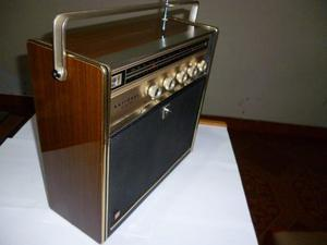 Tocadisco Automático Radio National Sg - 595. Portátil.