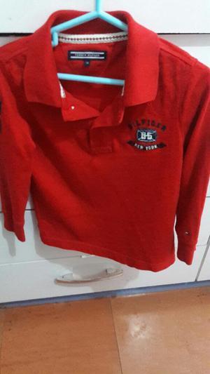 Vendo Polo Rojo Marca Tommy Hilfiger.