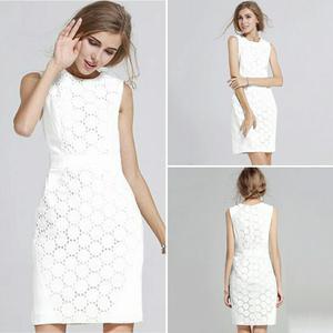 Vestido Blanco Mujer nueva