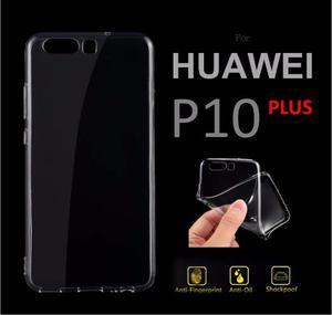 Funda Acrilico Gel Celular Huawei P10 Plus Transparente