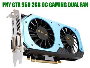 Tarjeta de Video PNY NVIDIA GTX 950 OC 2GB GDDR5