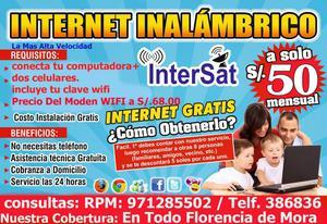 ahora puedes tener internet para tus estudios y el trabajo