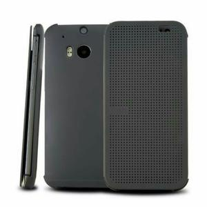 Htc One M8 Dot View Flip Cover Regalo