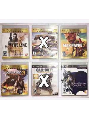 Juegos Para Playstation 3 Originales