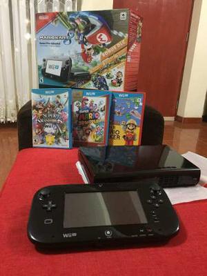 Nintendo Wii U 32 Gb + 4 Juegos