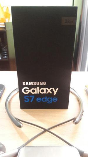 Samsung Galaxy S7 Edge Gold Mas Accesor.