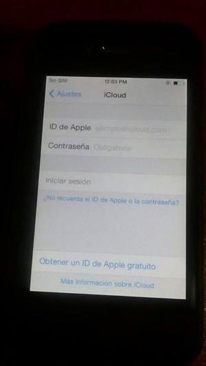 Vendo mi iPhone 4 De 16 Gb